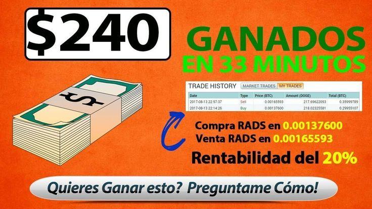$240 Dolares Ganados en 33 minutos - COMO GANAR DINERO POR INTERNET - CR...