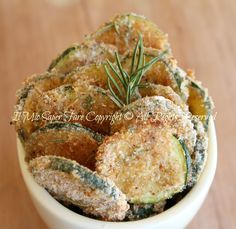 Chips di zucchine croccanti al forno | Zucchine sabbiose blog il mio saper fare