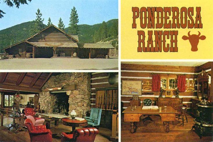 The pondarosa ranch a park based on the tv show bonanza for Ponderosa cabins california
