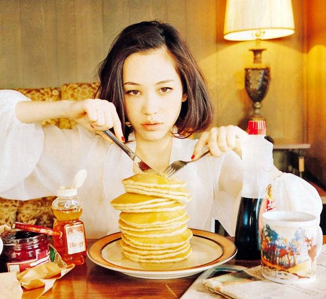 kiko mizuhara {pancake queen :)
