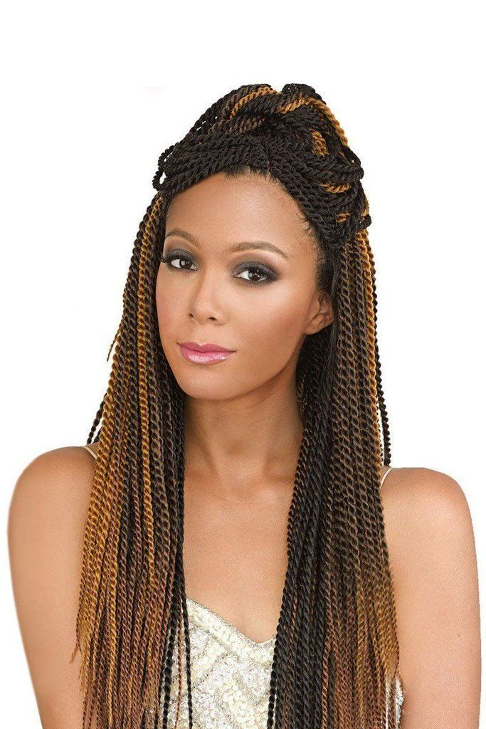 Bobbi Boss 100 Kanekalon Crochet Braids Senegal Twist Cool