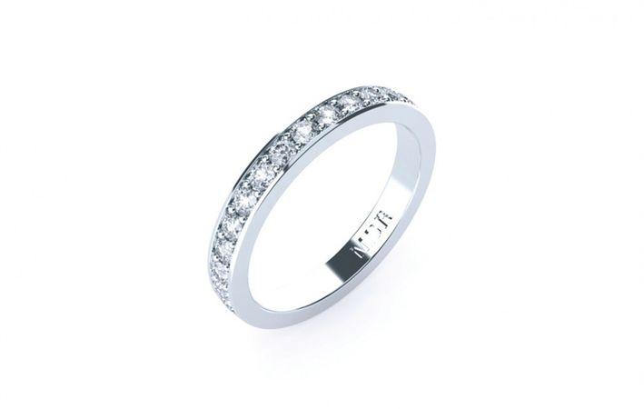 Makers Lane :: Cardinale Diamond Wedding Ring Custom Made, Bespoke jewellery made in Australia.