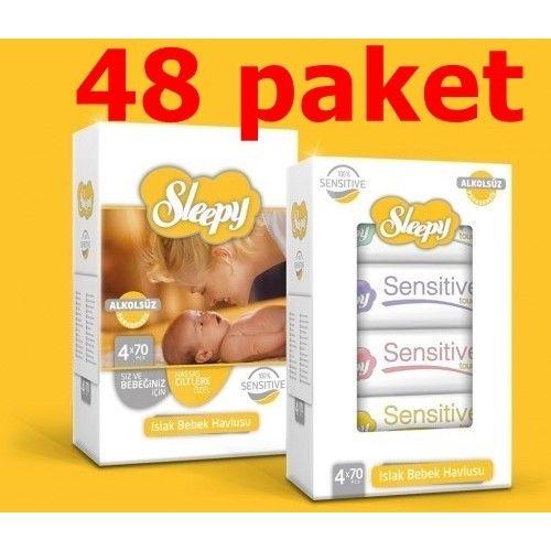 Sleepy islak mendil 70 li  48 adet  bebek bezi hediyeli ürünü, özellikleri ve en uygun fiyatların11.com'da! Sleepy islak mendil 70 li  48 adet  bebek bezi hediyeli, ıslak mendil