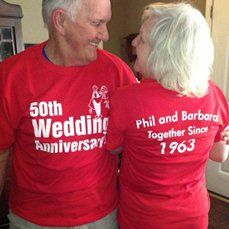 Our 50th wedding anniversary