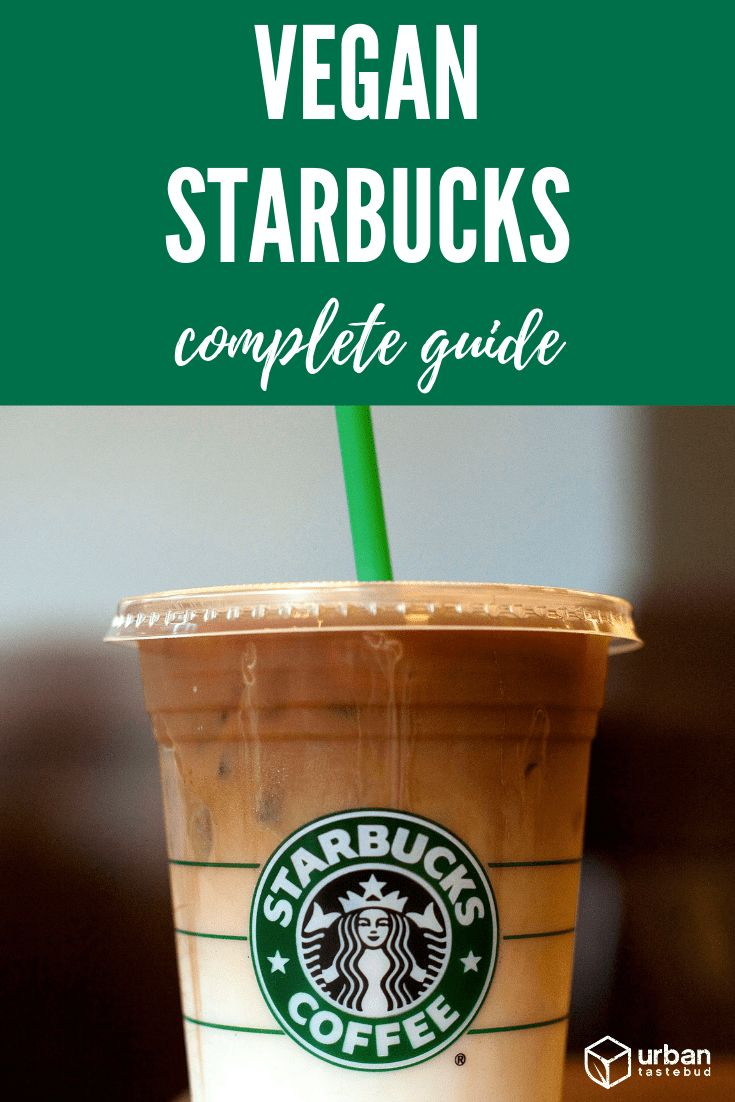 10 Vegan Starbucks Drinks that You Must Try Today  Starbucks gluten free, Vegan starbucks