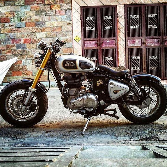 WOW!!! By @aimanverma @RoyalEnfieldBeasts #royal #royalenfield…