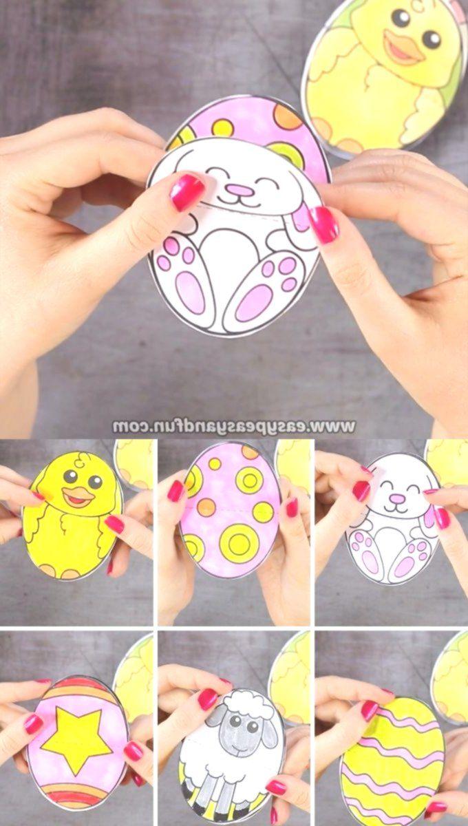 Druckbare Osterei Papierspielzeug # handgemacht #craft #craftstosell #bracelet # руч …   – Love Handmade