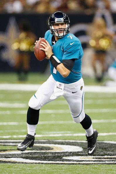 Chad Henne Photos Photos: Jacksonville Jaguars v New Orleans Saints