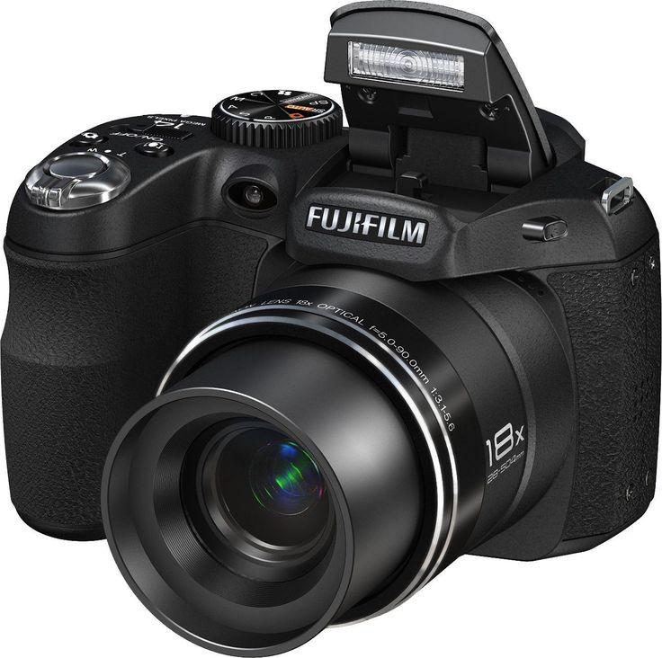 Fujifilm FinePix S2950 14 MP Digital Camera with Fujinon 18x Wide Angle Optical
