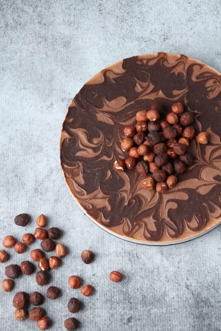 {Raw Vegan} Chocolate Hazelnut Mousse Cake   Sweet Talk