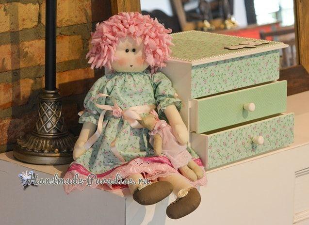 Примитивная кукла Мария. Выкройка (1)