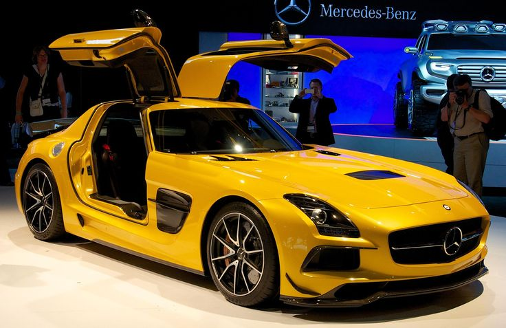 Mercedes Benz AMG SLS Black - Mercedes-Benz - Wikipedia, the free encyclopedia