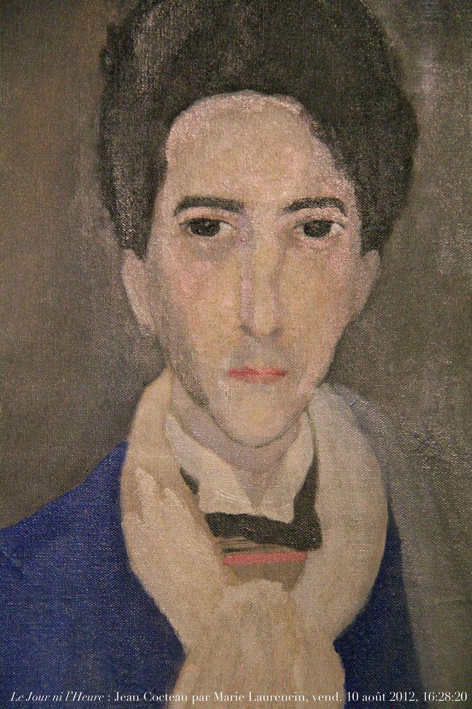 Portrait, 1921, dét., de Jean Cocteau, 1889-1963, par Marie Laurencin…
