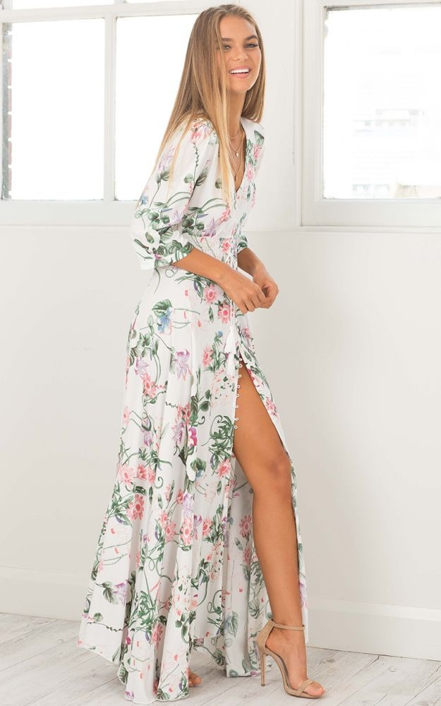 Floral dresses are amazing