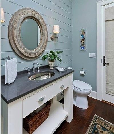 Cute Nautical Bathroom.