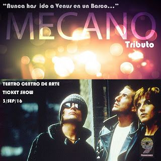 SEP 3 Tributo Mecano