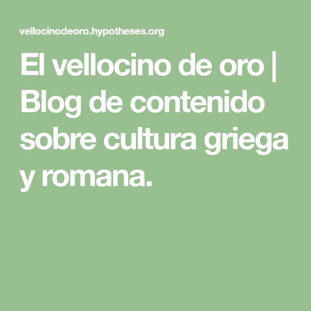 El vellocino de oro   Blog de contenido sobre cultura griega y romana.