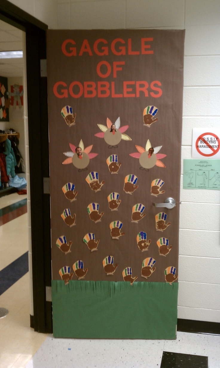 Classroom Ideas For November : Best door decorations images on pinterest christmas