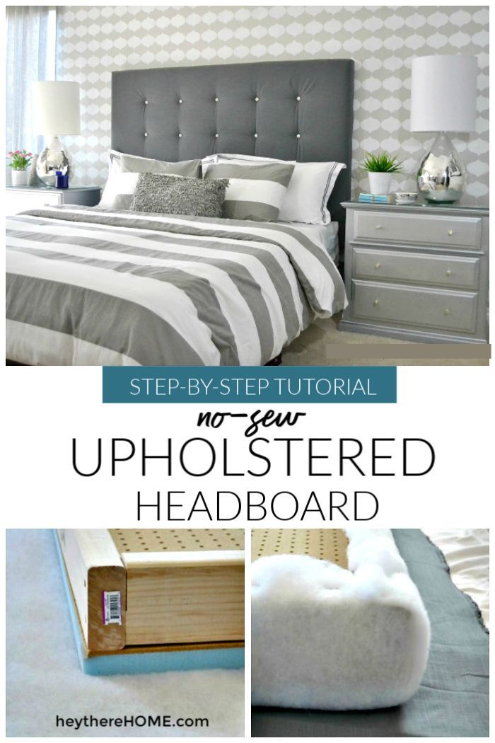 Diy Upholstered Headboard With Tufting Best Diy Home