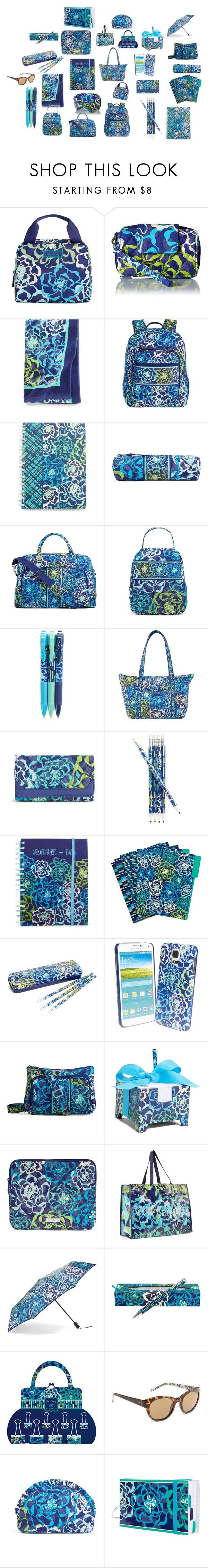 """Katalina Blues Vera Bradley Collection"" by brookieg711 on Polyvore featuring Vera Bradley"