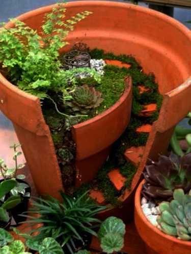 75 Best Images About Unique Flower Pots On Pinterest