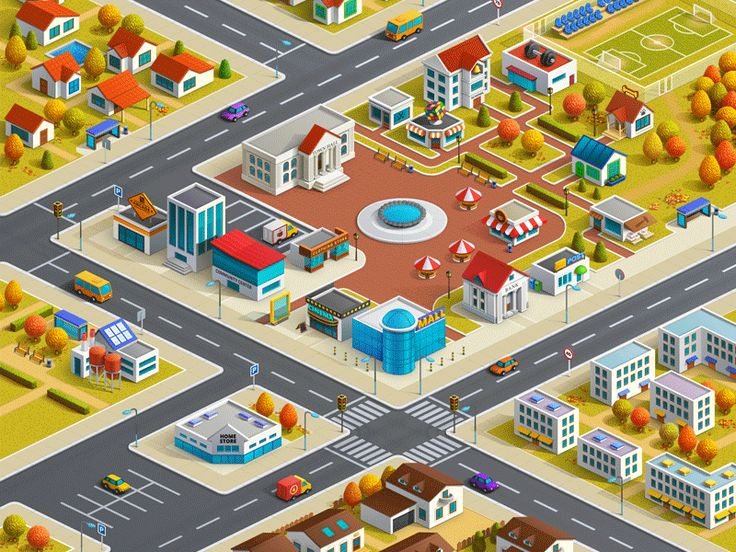 Best D Graphics Images On Pinterest Game Design Isometric - Artist creates ridiculously detailed paper cuts of city maps
