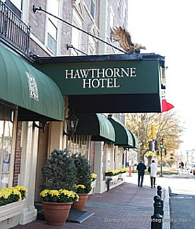 Hawthorne Hotel on Salem Common