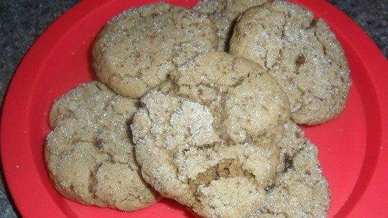 A gingersnap-like cookie with real coffee flavor.