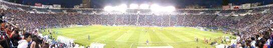 Panorámica del estadio azul, semifinal Concachampions @Cruz_Azul_FC vs Xolos 2-0,estamos en la final