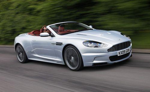 Guided Tour of the Aston Martin DBS: Aston Martin DBS Volante