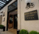 Hotel Diana in Rome, Italy- where we stayed for part of our honeymoon