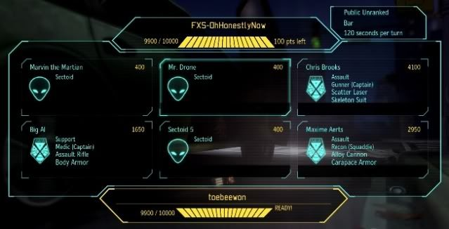 Building the perfect squad in XCOM: Enemy Unknown's multiplayer