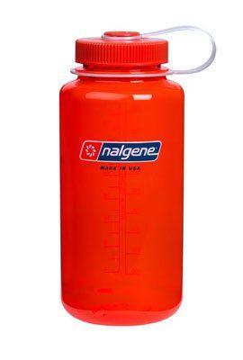 Nalgene Trinkflasche Everyday Weithals, Safelty Orange