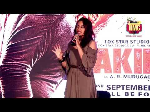 Sonakshi Sinha during the Akira's trailer launch. Film is directed by A.R.Murugadoss. #Bollywood #Movies #TIMC #TheIndianMovieChannel #Entertainment #Celebrity #Actor #Actress #Director #Singer #IndianCinema #Cinema #Films #Movies #Magazine #BollywoodNews #BollywoodFilms #video #song #hindimovie #indianactress  #Fashion #Lifestyle #Magazine #Gallery #celebrities