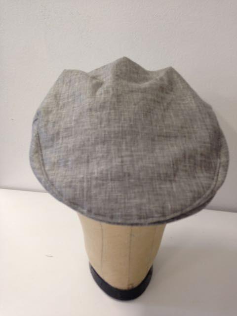 "Summer flat cap- ""smoke"" | Serena Lindeman Millinery"