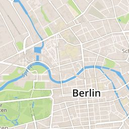 Berlin Map - Tourist Map of Berlin - Suggestme