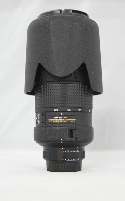 Used Nikon Zoom-Nikkor AF-S 80-200mm f/2.8 D AF-S ED IF Lens