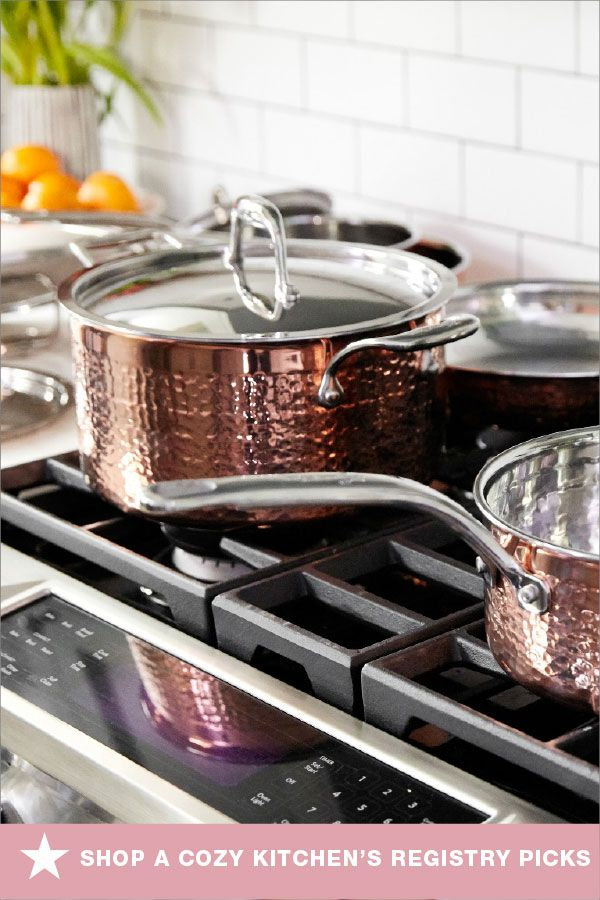 Adrianna Adarme From A Cozy Kitchen Has Partnered With Macy S Wedding Registry To Share Her Top Picks And Forget Me Not Cozy Kitchen Elegant Cookware Lagostina