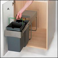 Les 25 meilleures id es concernant conteneur poubelle sur - Poubelles cuisine originales ...