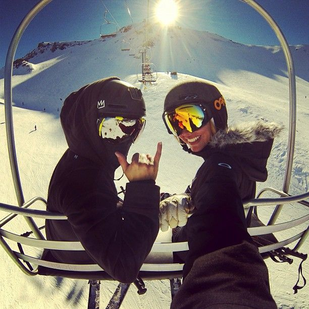 Chairlift chillout
