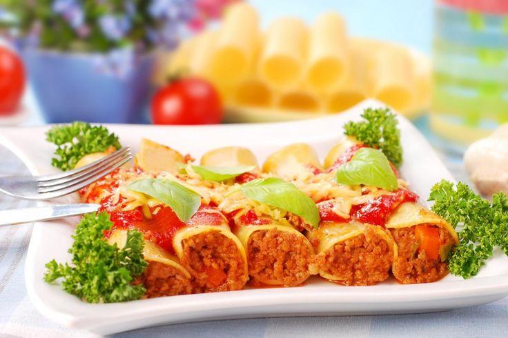 Cannelloni vert de boeuf, légumes et Parmesan - Les Recettes Grossesse De Neuf Mois