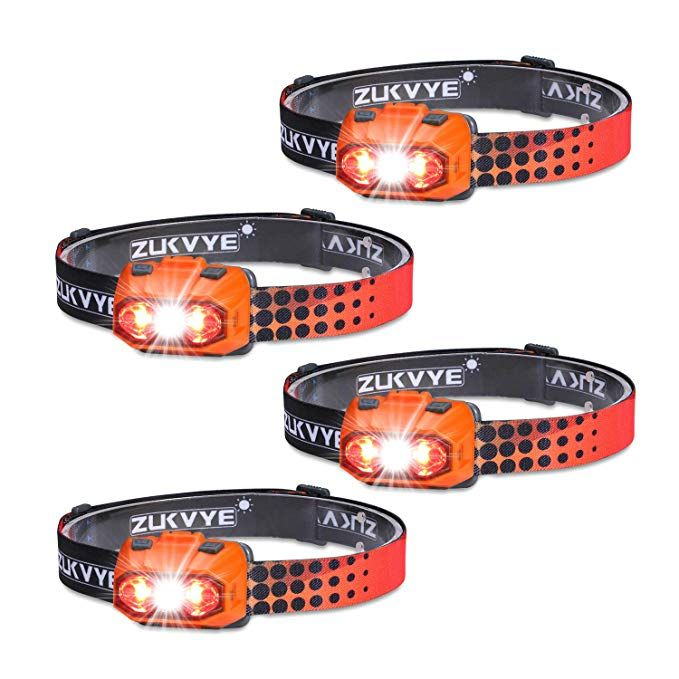 zukvye led headlamp ultra bright 230 lumen white led headlamp headlamp red led pinterest