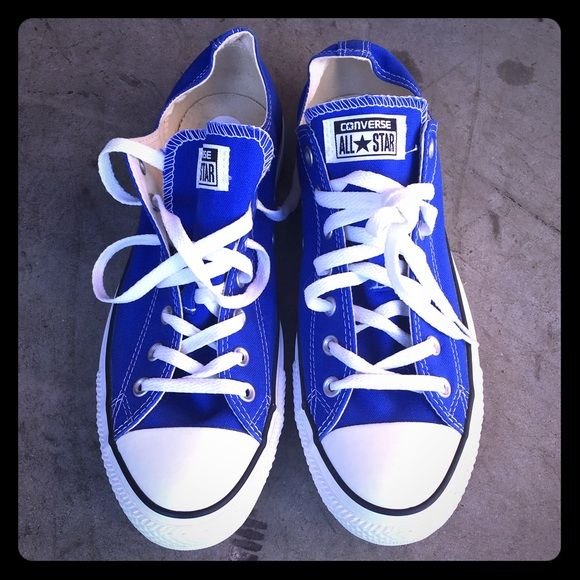 Converse All-Star Chuck Taylor Dazzling Blue RARE This listing is for a brand new pair of Convese All-Star Chuck Taylor sneakers. This RARE pair is now discontinued by Converse! - Men's 12, Women's 14 Converse Shoes Sneakers
