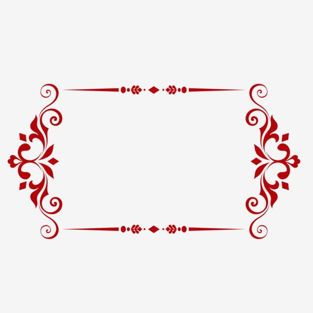 Square Red Border Beautiful Flower Vine Square Border Red Border Png Transparent Clipart Image And Psd File For Free Download Clip Art Frames Borders Calligraphy Borders Journal Stickers