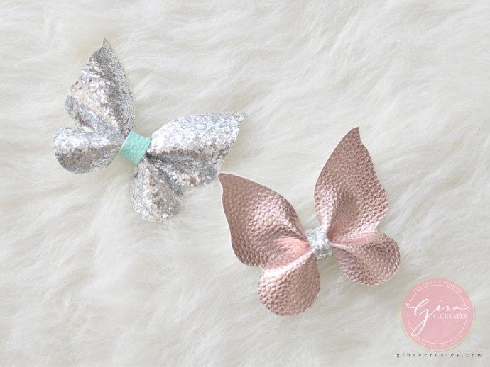 butterfly bow silhouette projects