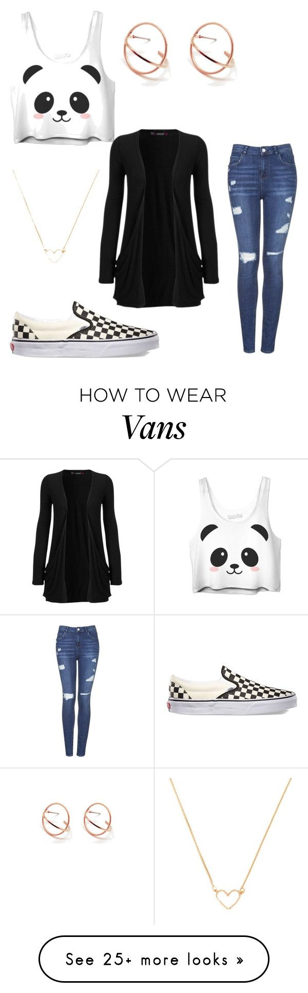 """Untitled #554"" by sadia-nasrallah on Polyvore featuring Topshop, Vans, Forever 21 and WearAll"