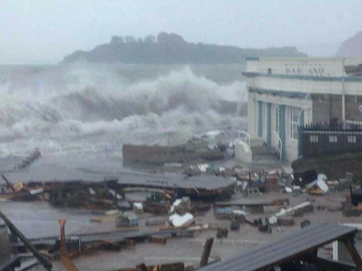 Storm 5 Feb 2014 Plymoutn