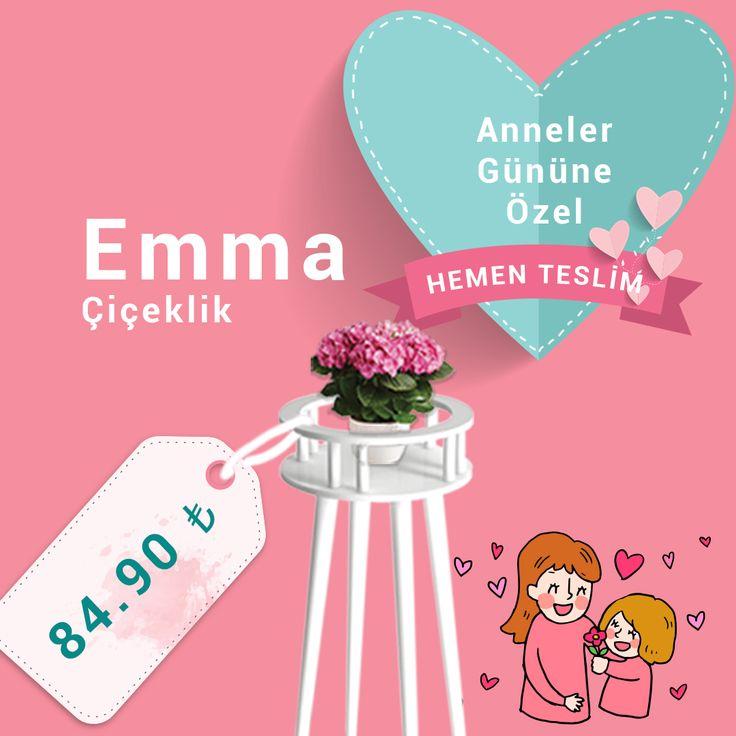 Anneler Gününe Özel Kampanya - Hemen Teslim - Emma Çiçeklik - 84,90 TL - Kapıda Ödeme Avantajı - Whatsapp Sipariş Hattı - 0532 566 60 37