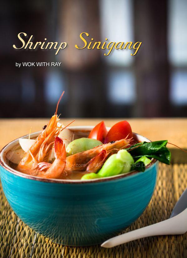 Shrimp Sinigang (Sinigang na Hipon) | @Wok with Ray