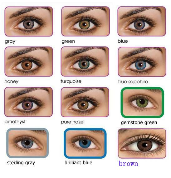 diameter fashional Freshlook magic natural color contact lenses $2~$5